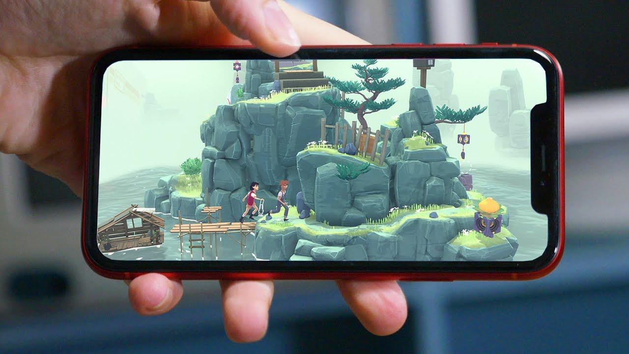 Capa da matéria os 10 melhores jogos para ios/iphone (2021)