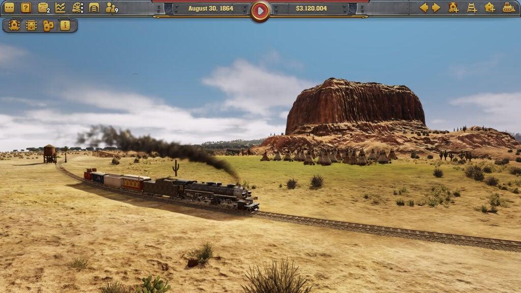 Railway empire é o game de simulação de trens mais legal da atualidade
