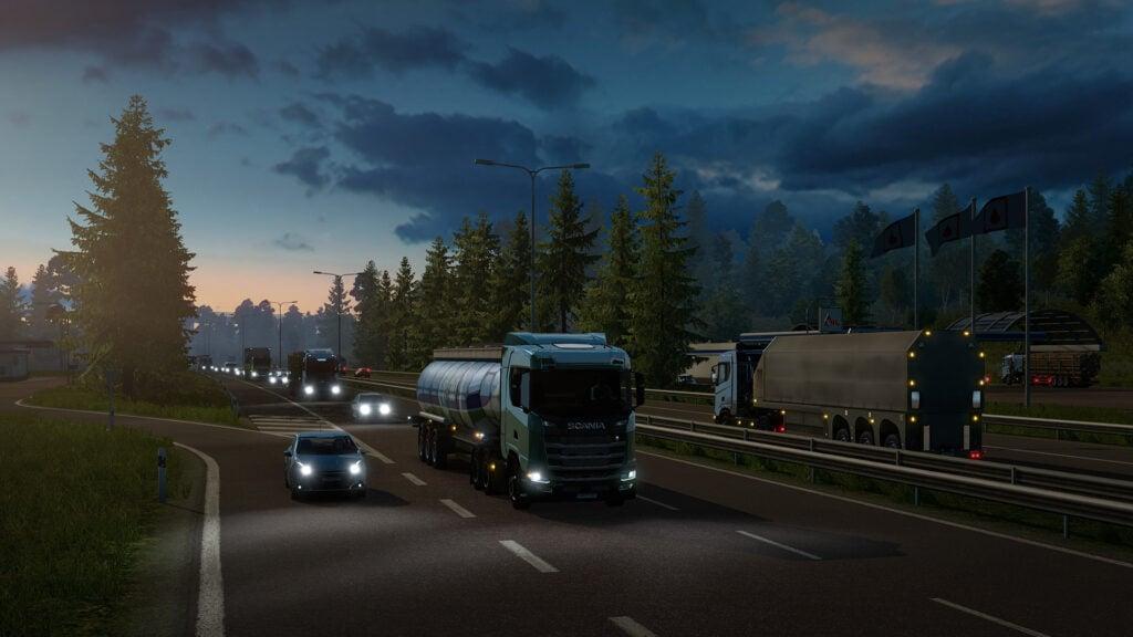 Domine as estradas com euro truck simulator 2