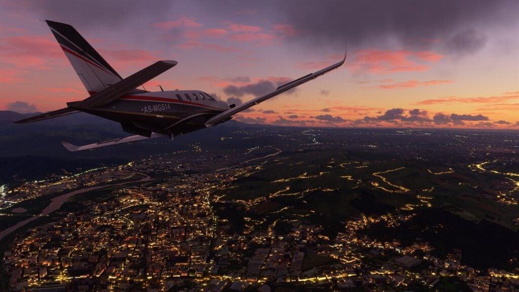 Flight simulator te permite viajar pelo mundo todo com belos gráficos