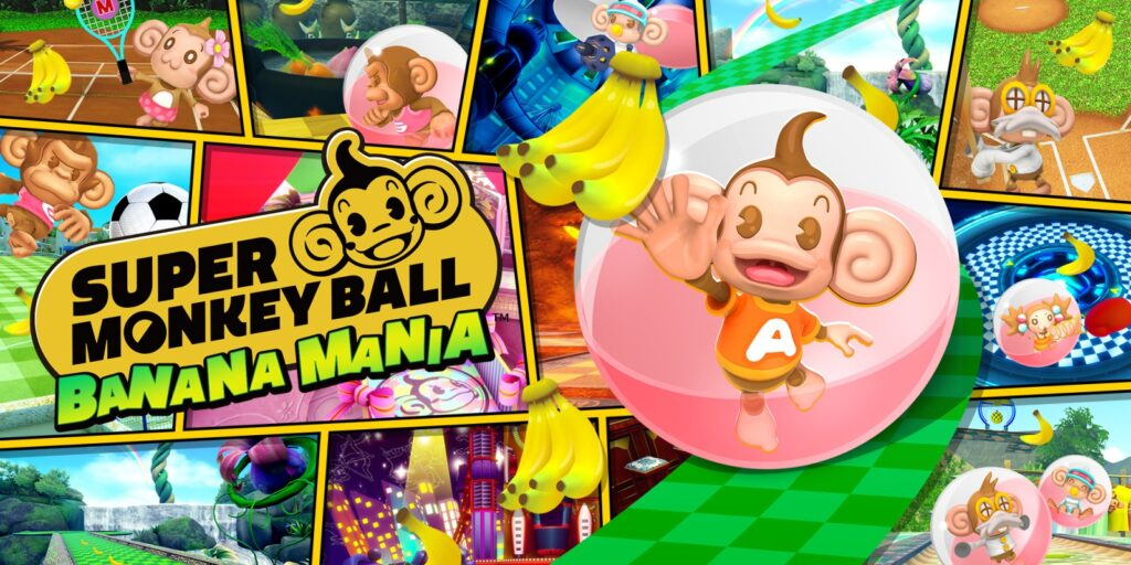 Imagem de divulgação de super monkey ball: banana mania
