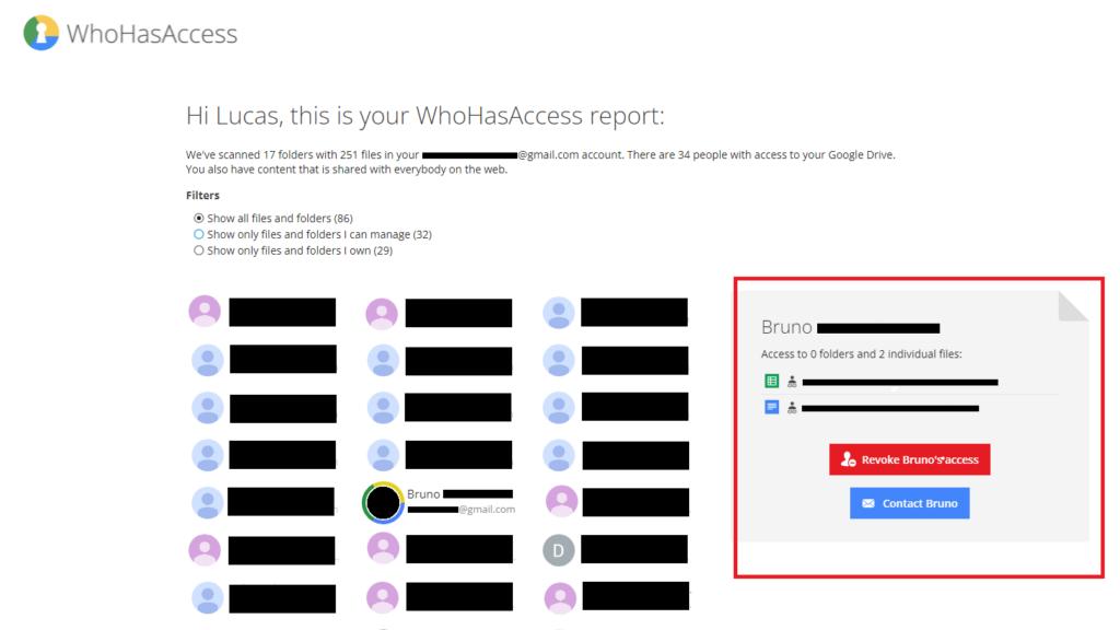 Como remover acessos e usuários antigos do google drive (whohasaccess). Whohasaccess é uma ferramenta bem simples que pode ajudar os usuários do google drive a gerenciar seus documentos compartilhados