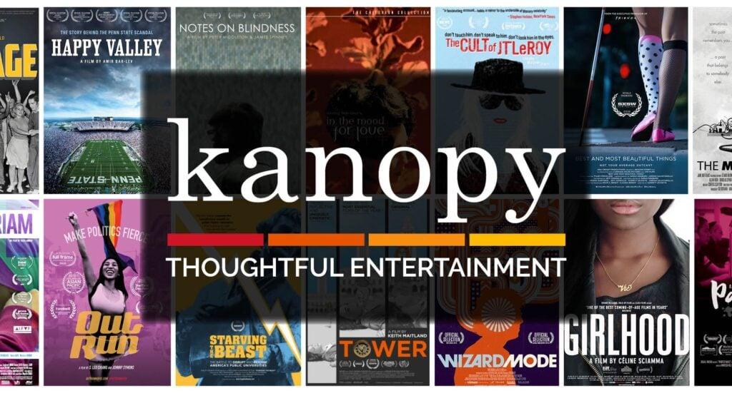 Kanopy como opção de assistir filmes online grátis