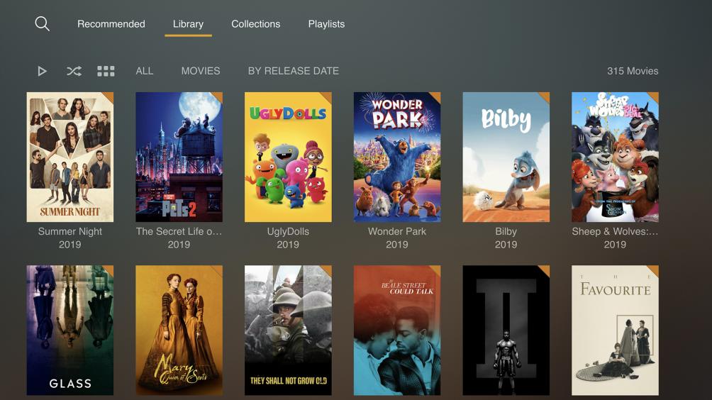 Plex como opção de assistir filmes online grátis