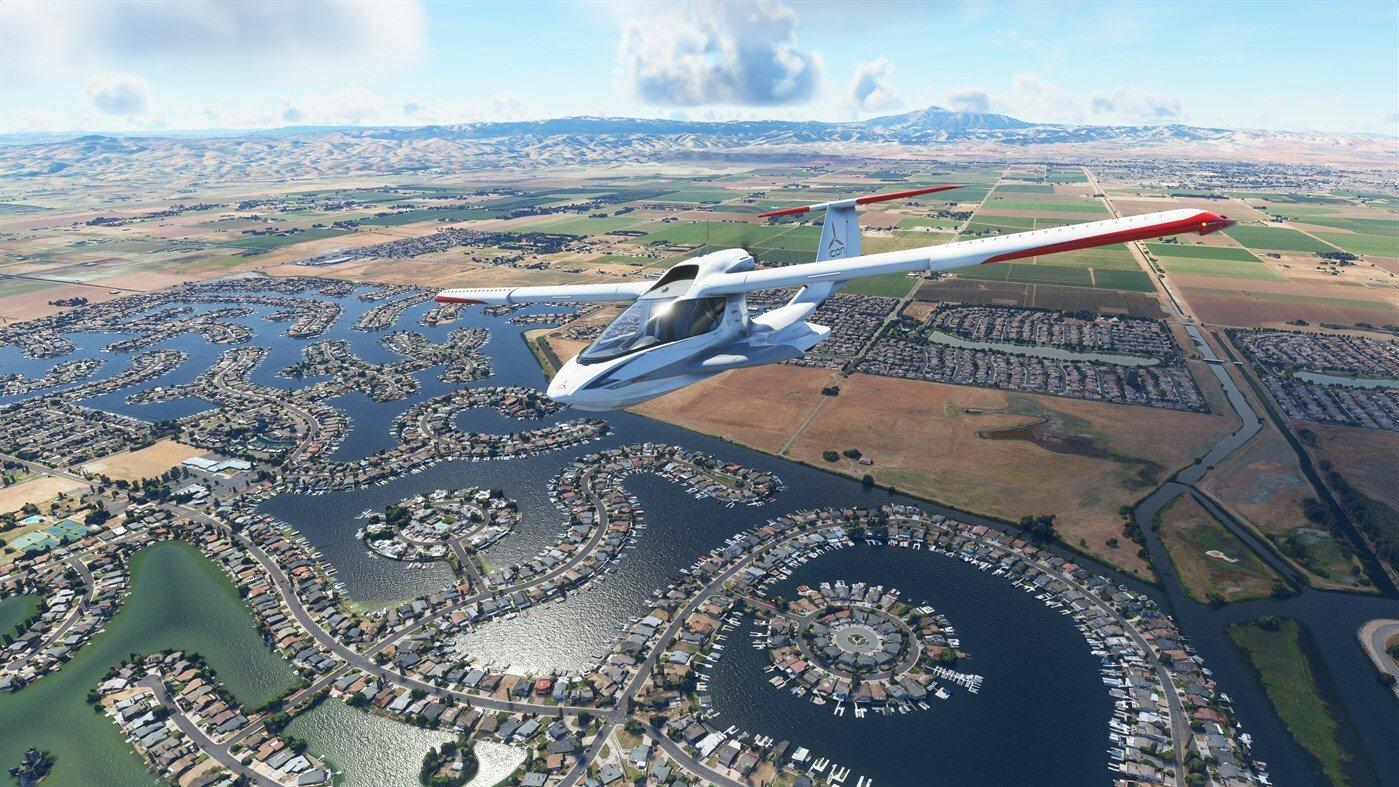 Flight simulator é um dos simuladores mais legais no mundo dos games
