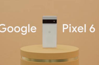 Foto de lançamento do evento do google pixel 6 e 6 pro