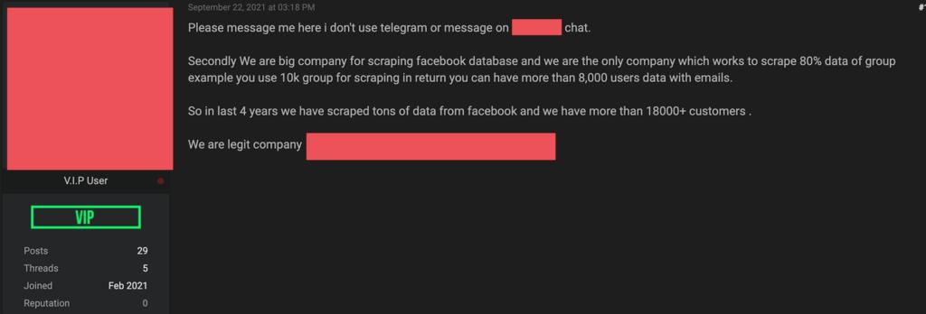 E-mail enviado por empresa de hackers vendem dados