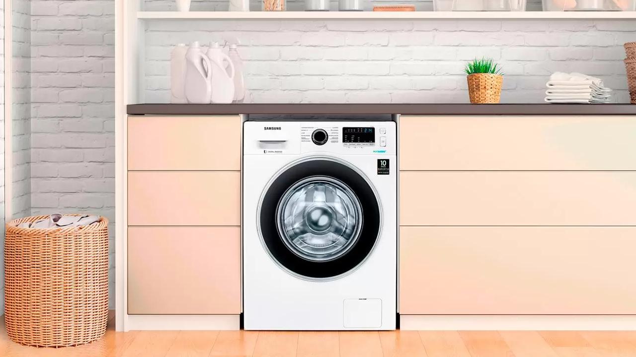 Nova lavadora de roupas samsung mira em economia e eficiência energética