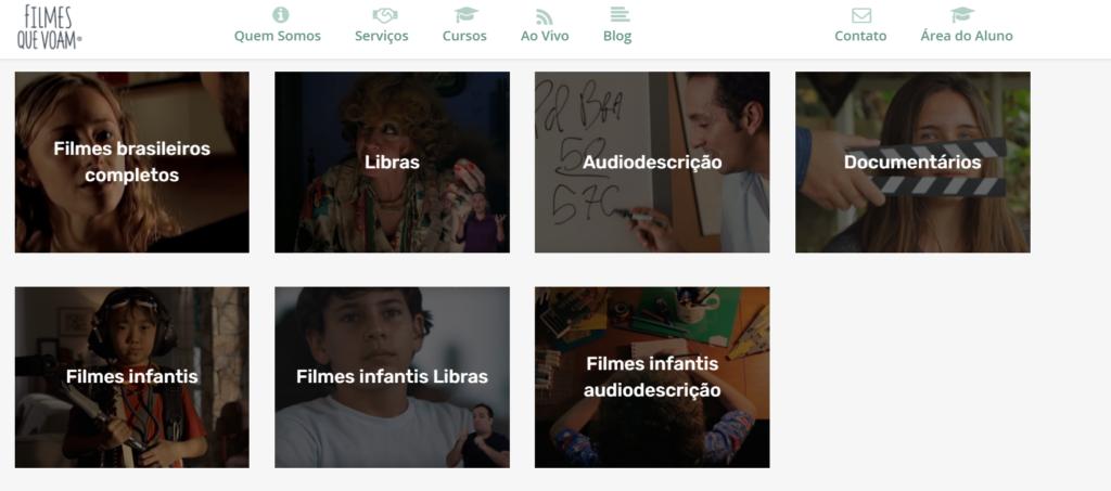 Filmes que voam como opção gratuita de filmes