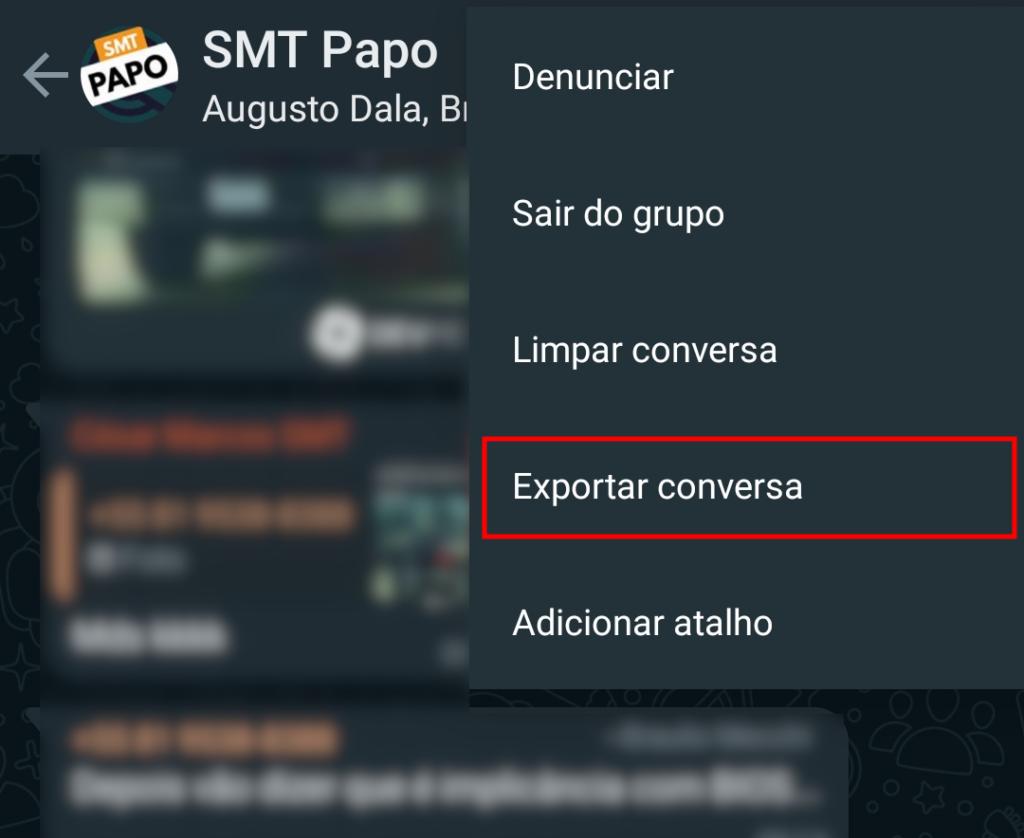 Como apagar a conta do whatsapp. Confira o tutorial com um passo a passo para exportar as conversas, salvar os dados e apagar a conta do whatsapp