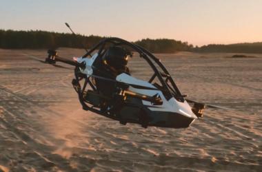 Jetson one, um kart voador inspirado em star wars