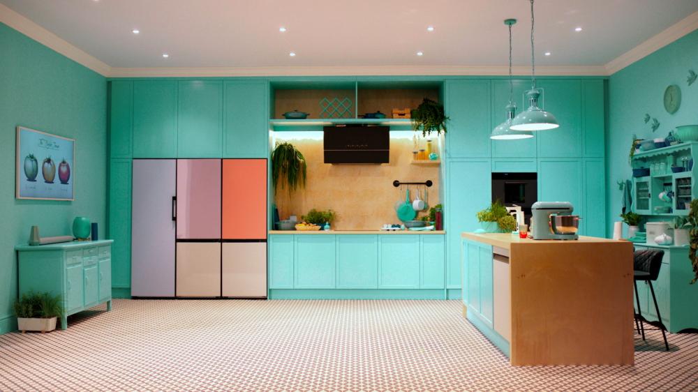 Geladeira bespoke refrigerator