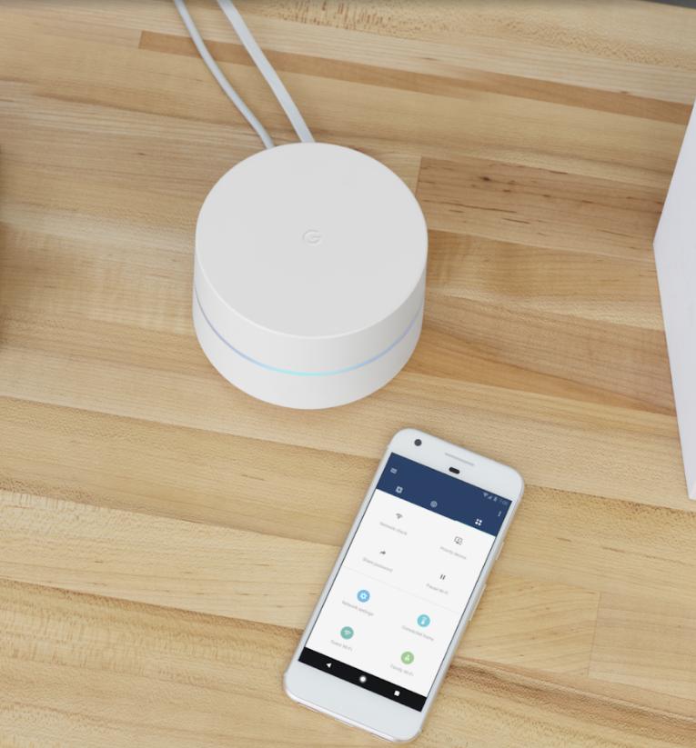 Google wifi e smartphone
