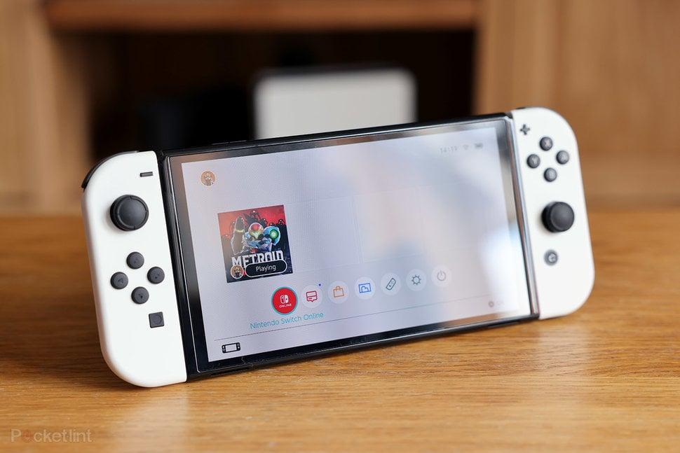 Nintendo switch oled no brasil com novos alto falantes