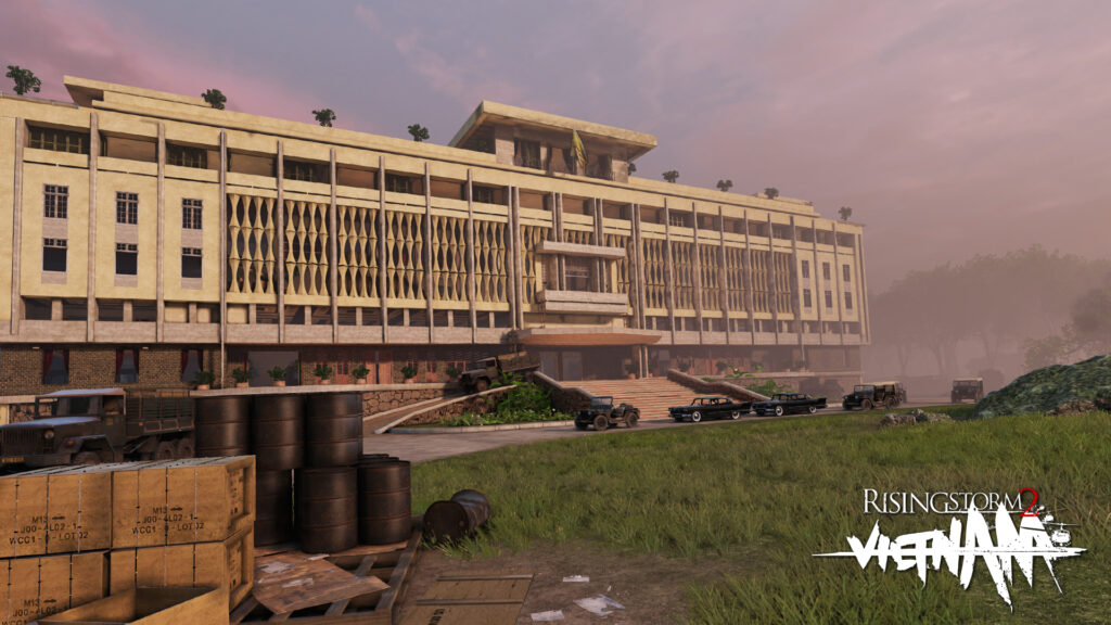 Jogue um dos simuladores de tiro mais realistas em rising storm 2: vietnam