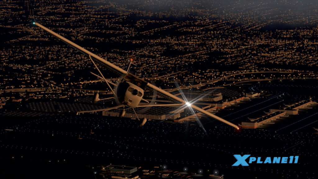 X-plane 11 é um dos melhores simuladores de vôo no mundo dos games