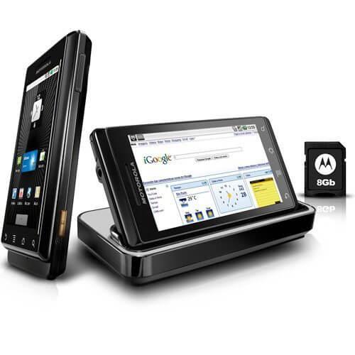 Motorola Droid Milestone - Motorola Milestone / Droid Review