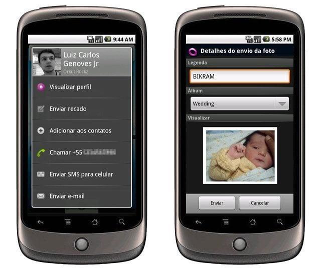 nexus one orkut - Combo: Google Buzz, Google Maps, Fring e Orkut para celulares Android
