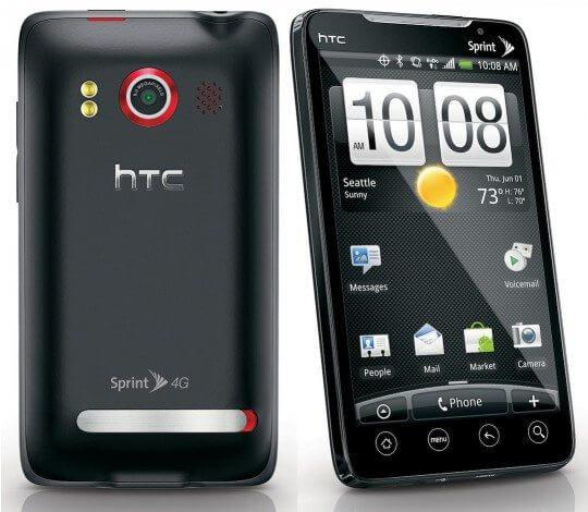 O primeiro celular 4G: HTC EVO