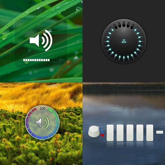 3RVX: controlador de volume com estilos Mac, Vista e outros no seu Desktop