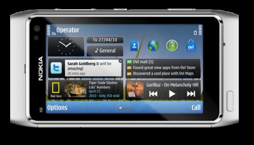 n8 2 500x285 - Vídeo: Nokia N8 Widgets preview