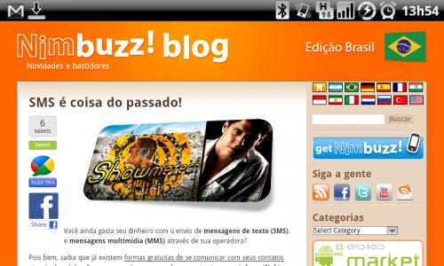Nimbuzz Showmetech 500x300 - Showmetech no Blog do Nimbuzz: SMS é coisa do passado!