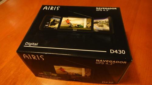 Unboxing: GPS AIRIS D430