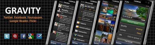 Gravity v1.32 (build 660): o melhor Twitter Client para celulares Nokia