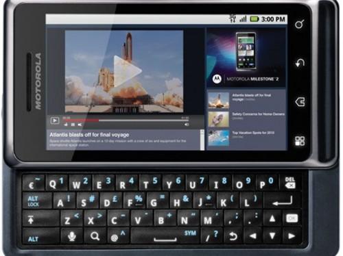 motorola milestone 2 500x374 - Vídeo: conheça o novo Motorola Milestone 2