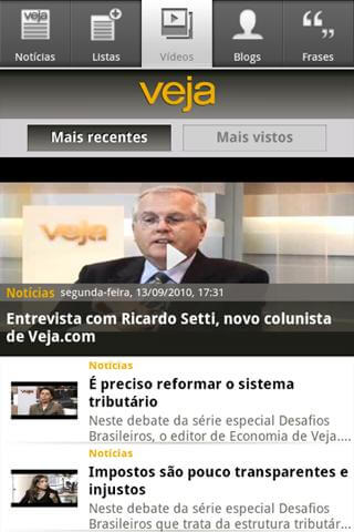 app veja aplicativo download revista
