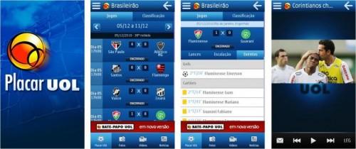 Placar UOL nokia 500x210 - Aplicativo Placar UOL: o melhor do futebol para os usuários de smartphones Nokia