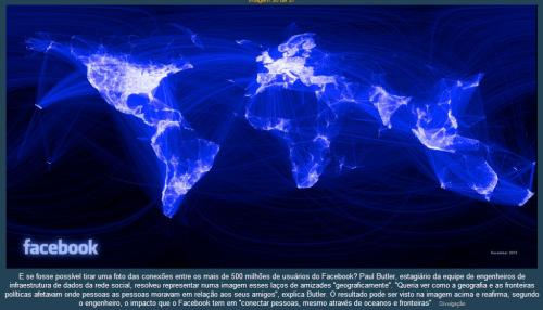 Facebook: um mundo conectado (Gráfico)
