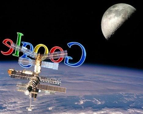 google satellite - Vídeo: um Android no espaço!