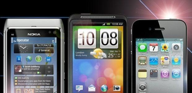 nokia iphone htc desire smartphone guide guia 2010