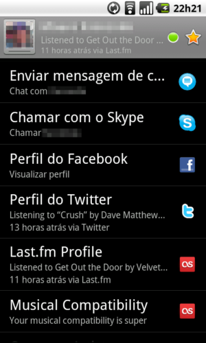 Tutorial: como sincronizar contatos da agenda com o Facebook e Twitter no Galaxy S