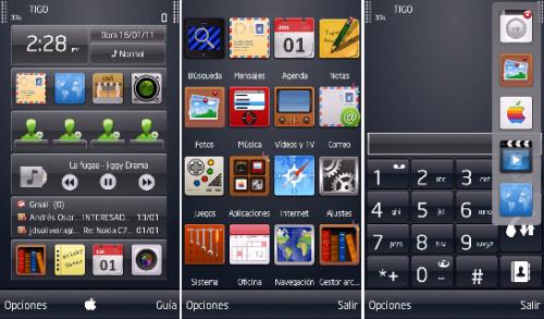 HITMAN1 500x293 - Temas: Hitman estilo iPhone, para smartphones Nokia e Symbian