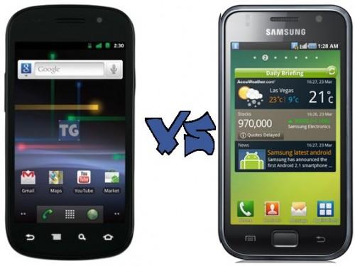 Samsung Google Nexus S VS Samsung Galaxy S 500x375 - Vídeo: Nexus S x Galaxy S