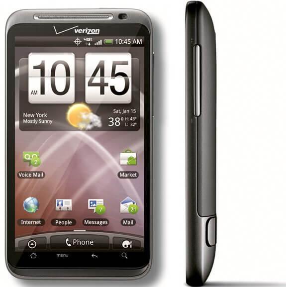 htc thunderbolt front - HTC apresenta o novo smartphone Thunderbolt (EUA)