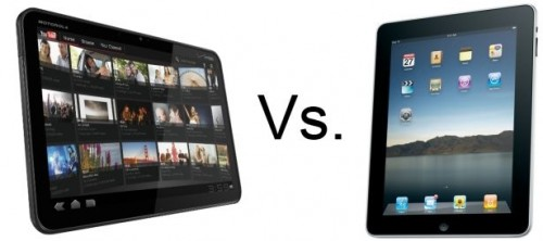 Comparativo: Morotola XOOM vs. iPad