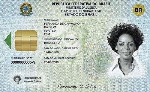 nova identidade RIC - Identidade HI-TECH: brasileiros poderão obter seu RIC a partir deste ano