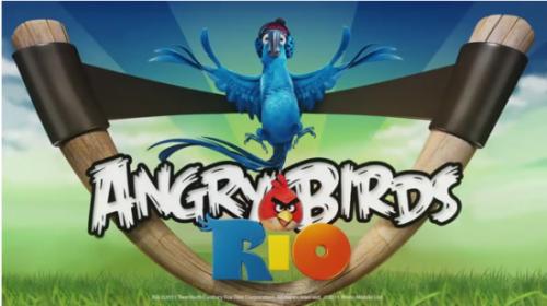 Angry Birds: versão Rio de Janeiro!