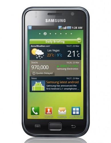Samsung Galaxy S I9000B recebe versão oficial do Android 2.3.3