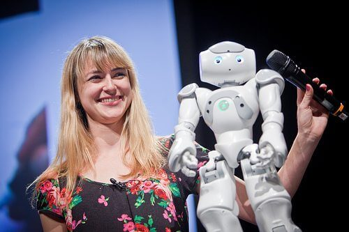 data heather knight robot stand-up comedy