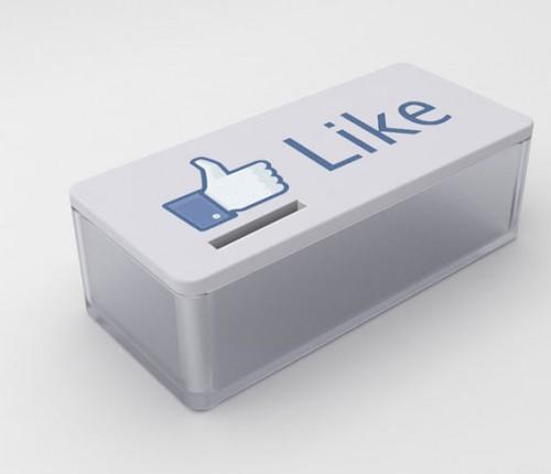 "Cofre Facebook Bem Legaus 1 500x430 - Geek stuff: cofre ""Curtir"""