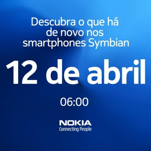 Nokia também reserva novidades para o dia 12 de Abril