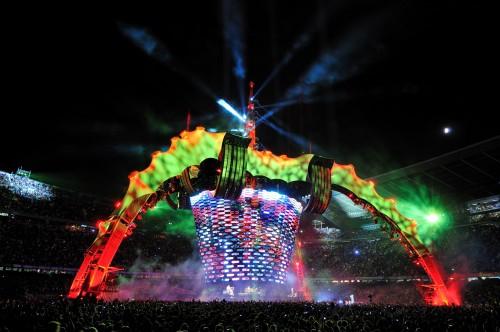 U2 360° tour: show mesmo é o telão. Boa parte das resenhas sobre os shows do u2 em são paulo esquecem de um grande detalhe: tão importante quanto os músicos, o aparato visual do espetáculo era um show à parte.