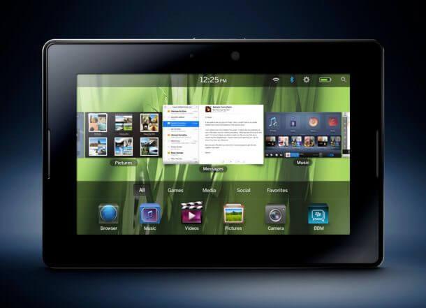 BlackBerry PlayBook 2 - RIM fará recall de 1.000 tablets Playbook