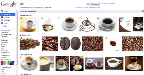Classifique sua pesquisa no Google Imagens