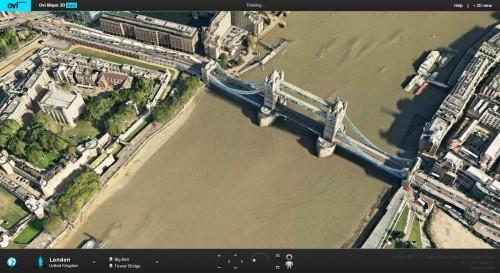 OVI Maps 3D: o mundo em 3D