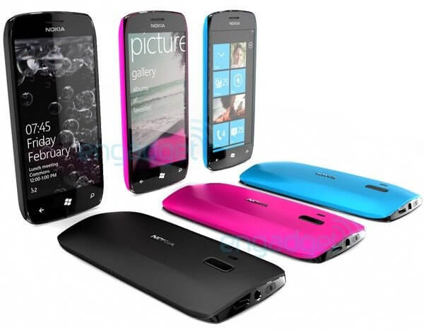 Nokia Windows Phone 7 WP7